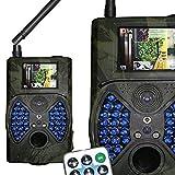 WAIDJAGD Wildbayer 12MP Wildkamera MMS/ GPRS -...