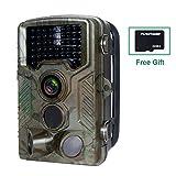 FLAGPOWER Wildkamera mit SD Karte 32GB, Wildkamera...