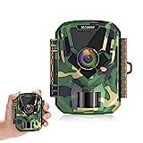 TOGUARD Mini Wildkamera FHD 1080P 12MP Jagdkamera...