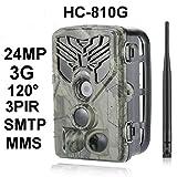 24MP 3G Wildkamera HC-810G Full HD 44 Black LED...