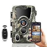 SUNTEKCAM WLAN Wildkamera 24MP 1080P Video...