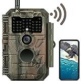 GardePro E6 Wildkamera WLAN Bluetooth Antenne 24MP...