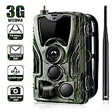 3G Wildkamera Fotofalle 16MP 1080P mit Handy...