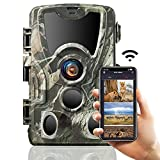 SUNTEKCAM WLAN Bluetooth Wildkamera 24MP 2.7k...