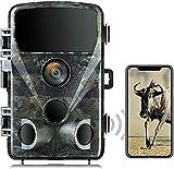 Wildkamera 4K 24MP mit WLAN Bluetooth 0,2s...