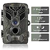 DIGITNOW! Wildkamera Fotofalle 20MP 1080P FHD...