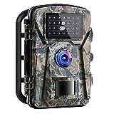 Wildkamera 16MP 1080P mit Infrarot-Nachtsicht bis...