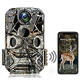 WiMiUS H8 WLAN Wildkamera 24MP 1296P Video WiFi...