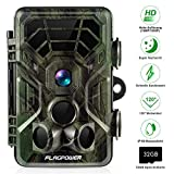 FLAGPOWER Wildkamera Fotofalle 16MP 1080P Full HD...
