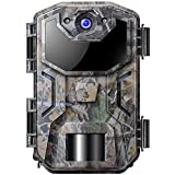 Wildkamera mit Bewegungsmelder Nachtsicht 1080P...