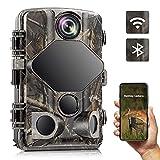 Wildkamera WLAN, 4K 24MP Bluetooth Jagdkamera mit...