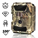 WingHome Wildkamera Fotofalle Full HD 12MP 1080P...