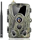 SUNTEKCAM 4G Wildkamera 20MP 1080P HD Jagdkamera...