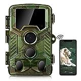 COOLIFE WiFi Bluetooth Wildkamera 4K 32 MP...
