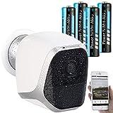 VisorTech WiFi Cam: IP-HD-Überwachungskamera mit...