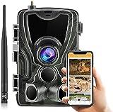 4G 30MP Wildkamera HC-801Plus mit APP Unsichtbare...