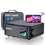 Beamer, WiMiUS 8500 Lumen Full HD 1080P Beamer 5G...