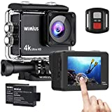 Relimi Action Cam 4K 16MP Touch Screen WiFi HD...