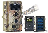 VisorTech Wildtierkamera: Full-HD-Wildkamera, 3...