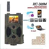 KUANGQIANWEI Wildkamera HC300M Jagd-Kamera GSM...