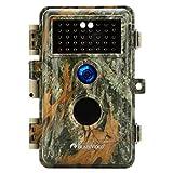 BlazeVideo 24MP Wildkamera Nachtsichtkamera...