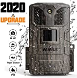 WiMiUS Wildkamera, 16MP 1080P HD Wildkamera mit...